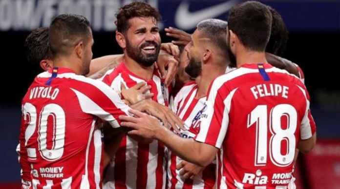 Atletico Dianiaya Dengan 2 Gol Batal, Satu Pemain Diusir Tapi Menang 1-0