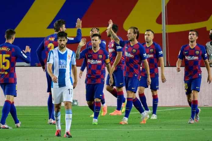 Barcelona Menyerah Kejar Real Madrid