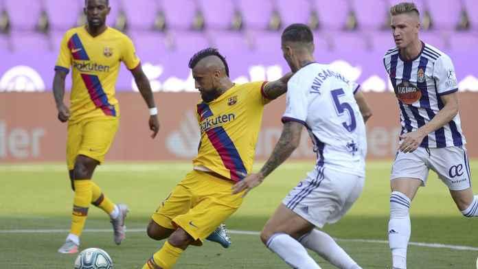Barcelona Sukses Atasi Valladolid, Ini Kata Vidal