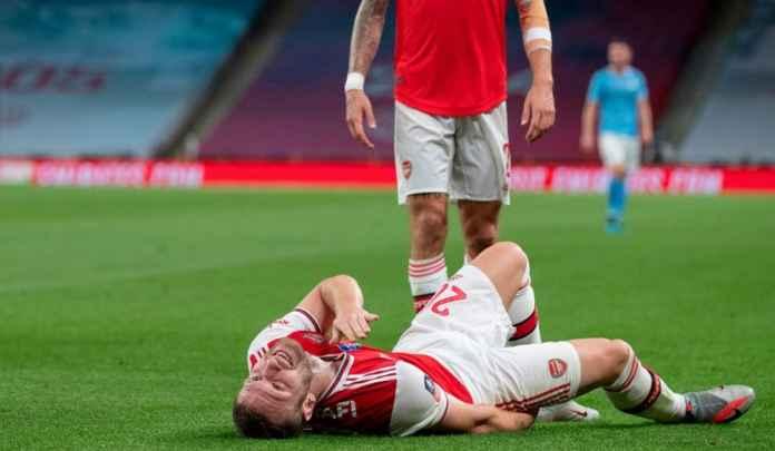 Berita Pemain Arsenal Shkodran Mustafi cedera dan absen di Final Piala FA