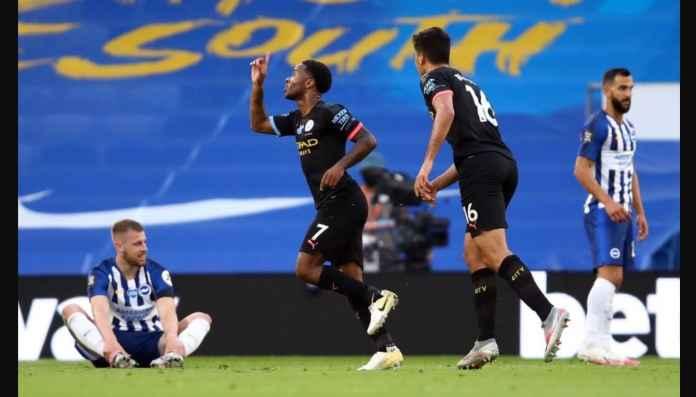 Hasil Brighton vs Manchester City 0-5, Gol Dari Tiga Pemain Berbeda