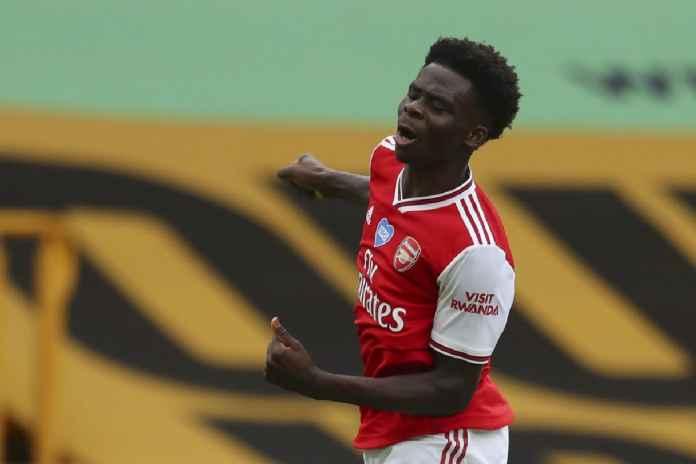 Bukayo Saka Berhasil Bikin Legenda Arsenal Ini Bahagia