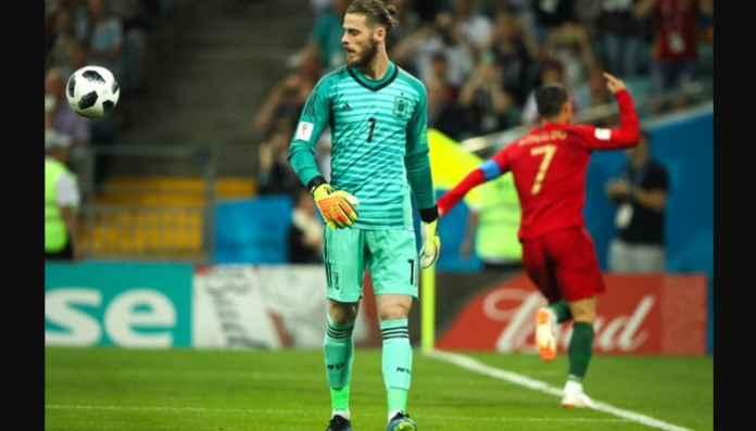 Performa De Gea Ambyar Sejak Gawangnya Dijebol Tiga Kali Oleh Ronaldo