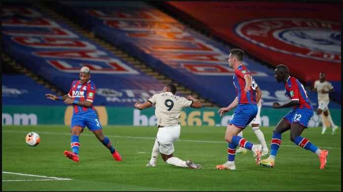 Hasil Crystal Palace vs Manchester United, Untung Gol Ayew Dibatalkan