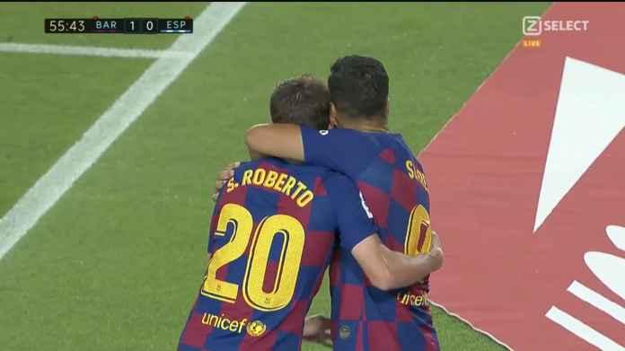 Hasil Barcelona vs Espanyol Dua Kartu Merah! Espanyol Terdegradasi!