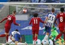 Hasil Brighton vs Liverpool di Liga Inggris skor 1-3