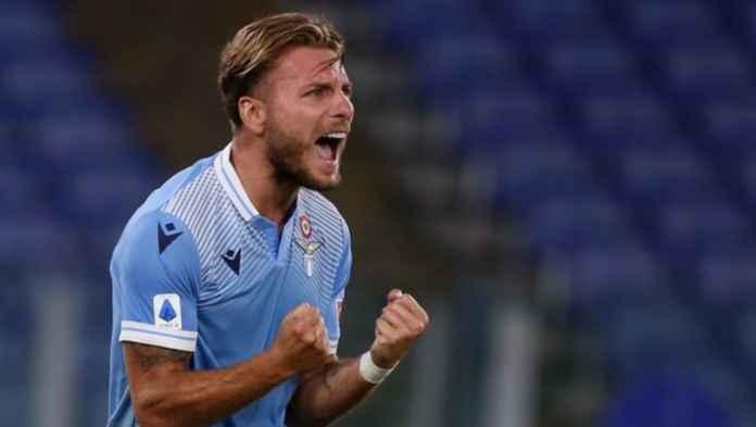 Hasil Lazio vs Brescia - Hasil Liga Italia - Ciro Immobile
