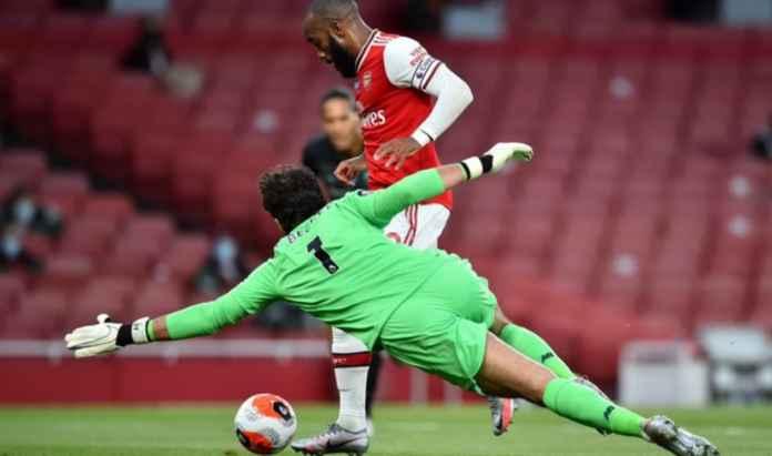 Hasil Liga Inggris - Arsenal vs Liverpool tadi malam