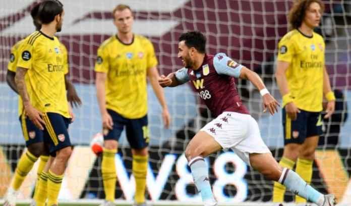 Hasil Liga Inggris - Hasil Aston Villa vs Arsenal