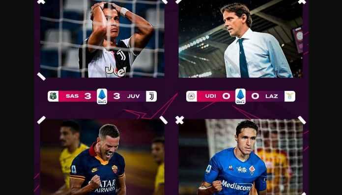 Hasil Liga Italia 16 Juli, Juventus dan Napoli Imbang, Milan Menang