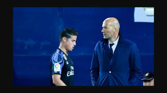 Real Madrid vs Alaves Besok, Zidane Tak Malu-malu Coret Nama James