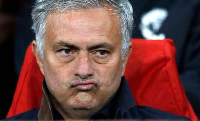 Jose Mourinho sebut Manchester United hanya beruntung bisa lolos empat besar Liga Inggris