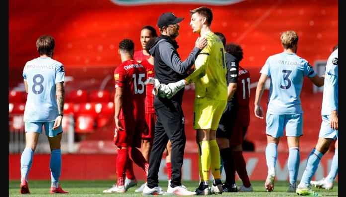 Saking Hebatnya Pemain Burnley Ini, Karir Kiper Liverpool Dalam Bahaya