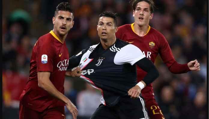 Juventus vs Roma, Omelan Sarri, Gol Ronaldo dan Hantu Kompetisi Eropa
