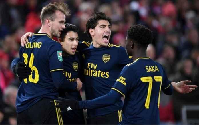Bek Arsenal Diantri Tiga Klub Raksasa
