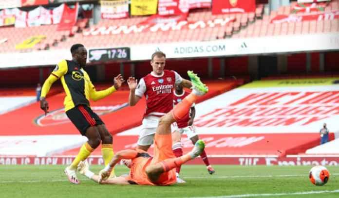 Hasil Arsenal vs Watford 3-2, Berjuang Ekstra Hadapi Tim Degradasi