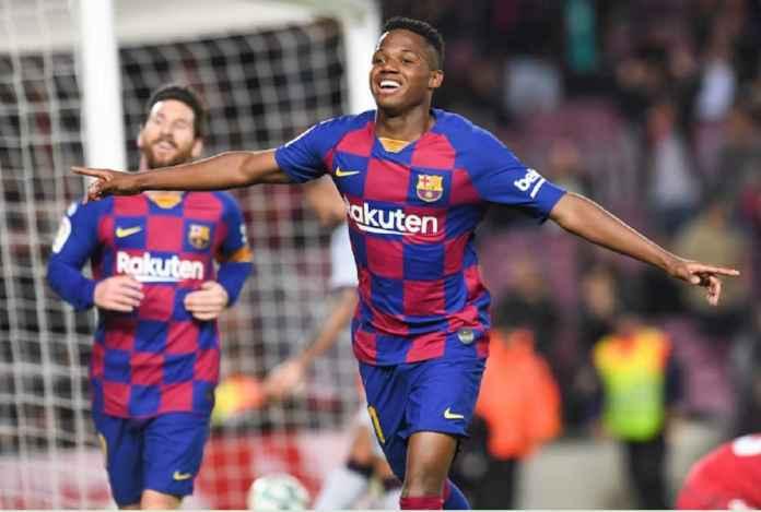 Ansu Fati Kembali ke Barcelona B