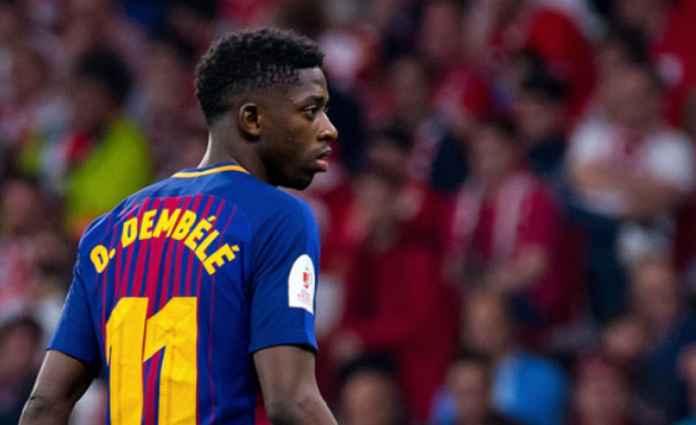 Ousmane Dembele Tak akan Tinggalkan Barcelona untuk Manchester United