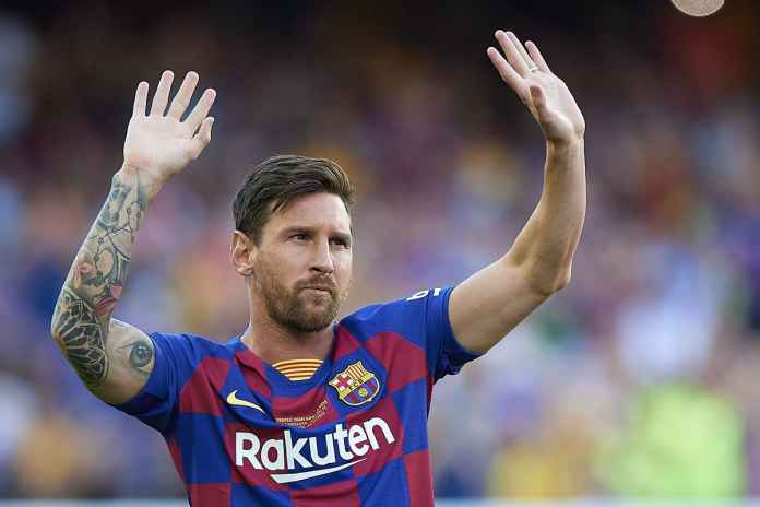Lionel Messi Mau Hengkang, Ini Respon Van Bronckhorst