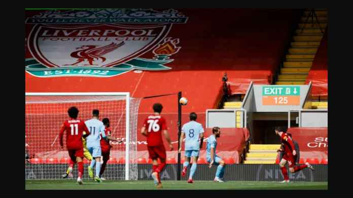 Hasil Liverpool vs Burnley 1-1, Sejumlah Rekor Terancam Gagal