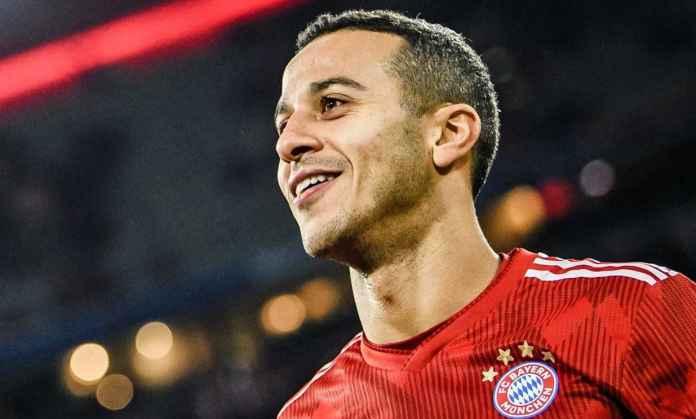 Manchester United segera tuntaskan transfer Thiago Alcantara dari Bayern Munchen - Berita Transfer