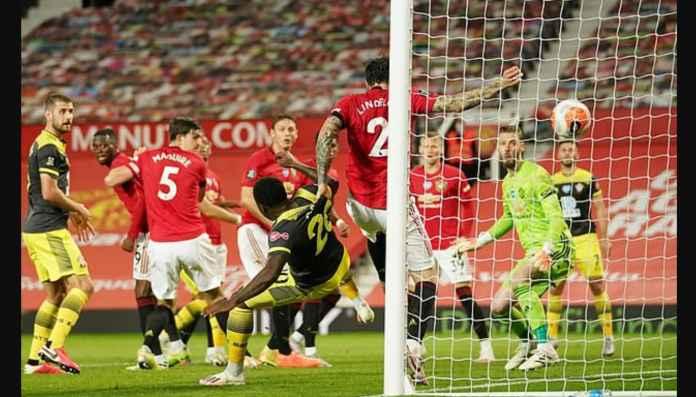 Dua Pemain Manchester United Jadi Kambing Hitam Hasil Imbang 2-2