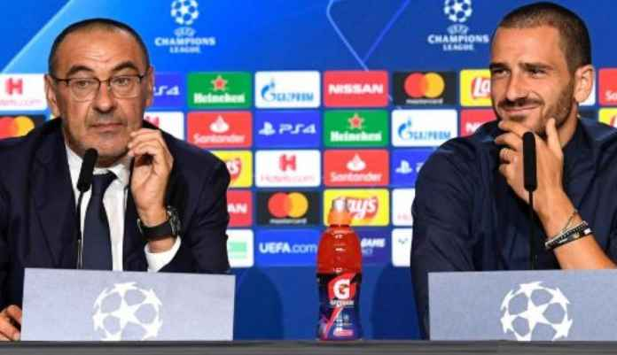 Maurizio Sarri dan Leonardo Benocci - Berita Juventus