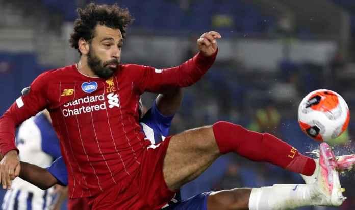 Mohamed Salah tampil hebat di laga Liverpool vs Brighton