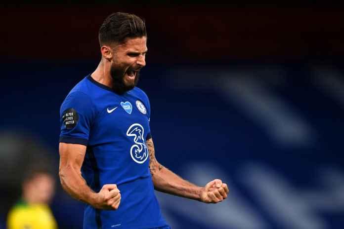 Olivier Giroud Cetak Gol, Frank Lampard Akui Kehebatannya