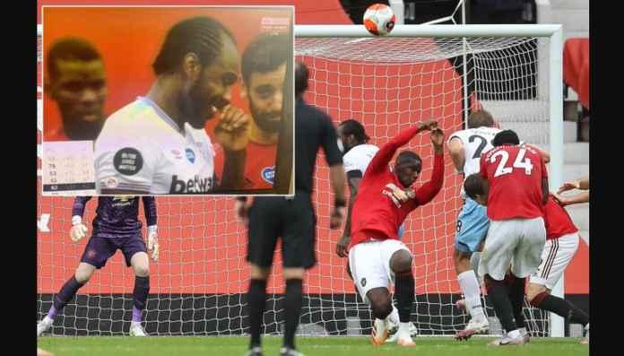 Handball Pogba Jadi Bahan Tertawaan Saat Man Utd Imbang 1-1 West Ham