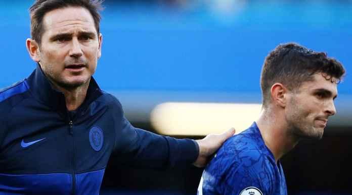 Pelatih Frank Lampard dan Christian Pulisic