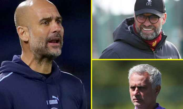 Pep Guardiola - Jurgen Klopp - Jose Mourinho