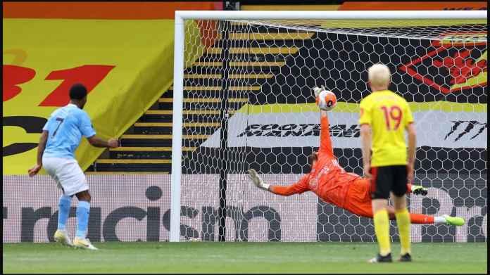 Hasil Watford vs Manchester City, Sterling Panaskan Lomba Sepatu Emas