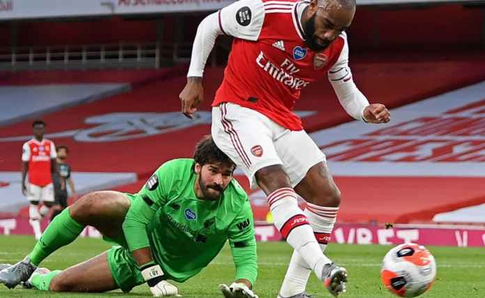 Rapor pemain Arsenal kontra Liverpool