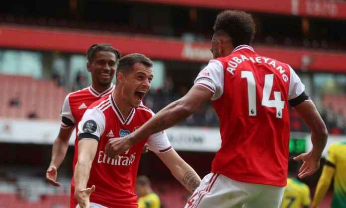 Rating pemain Arsenal vs Norwich City