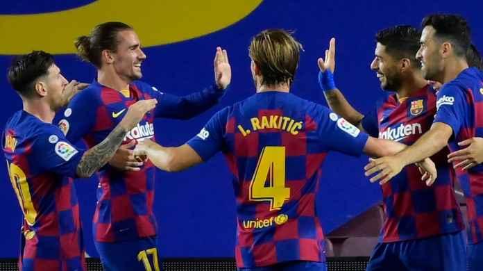 Skuad Barcelona sukses tendang Espanyol dari LaLiga