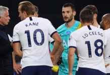 Skuad Tottenham Hotspur bersama Jose Mourinho