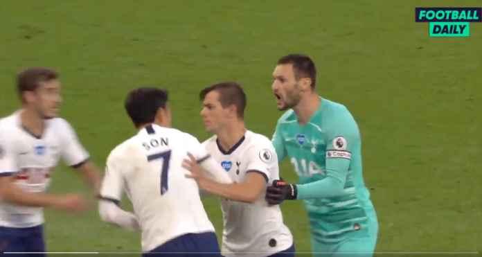 Lihat Lloris dan Son Hampir Berkelahi Saat Tottenham Unggul 1-0