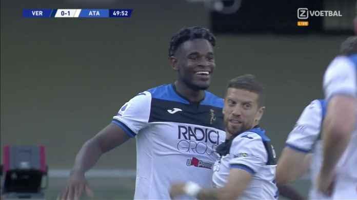 Hasil Verona vs Atalanta 1-1, Menyenangkan Juventus Inter Lazio