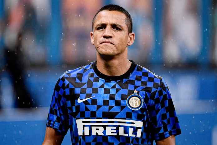 Alexis Sanchez Ngebet Mau Kasih Gelar Buat Inter Milan