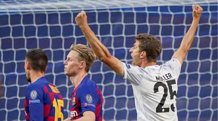 Lihat Gol-gol Bayern Munchen Hancurkan Hati Para Pendukung Barcelona