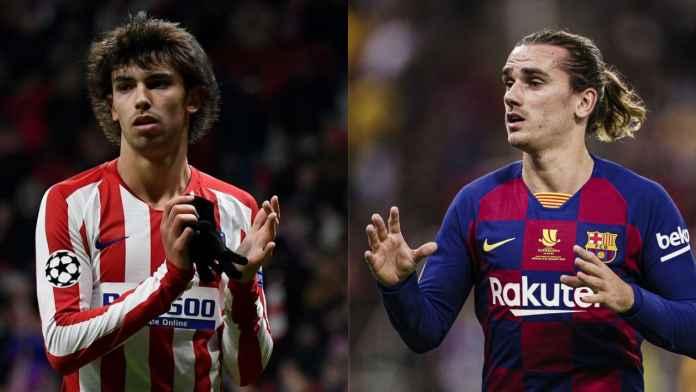 Berita Transfer Barcelona Atletico Madrid - Joao Felix - Antoine Griezmann