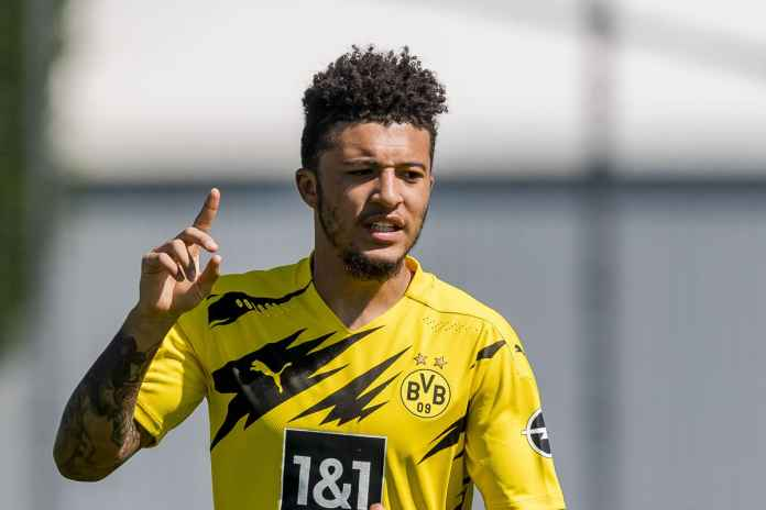 Dortmund Bantah Kontak Dengan MU Soal Sancho
