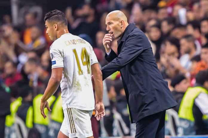 Casemiro Ungkap Zidane Pelatih Yang Menuntut