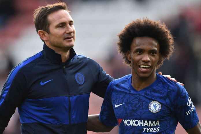 Frank Lampard Pasrah Soal Willian