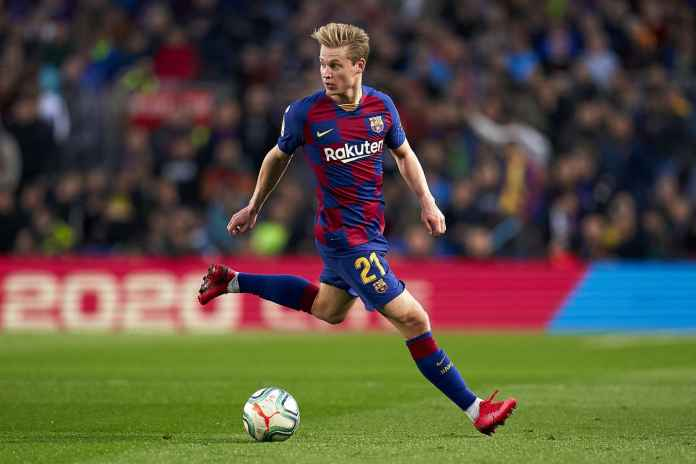 Frenkie De Jong Nikmati Kariernya di Barcelona