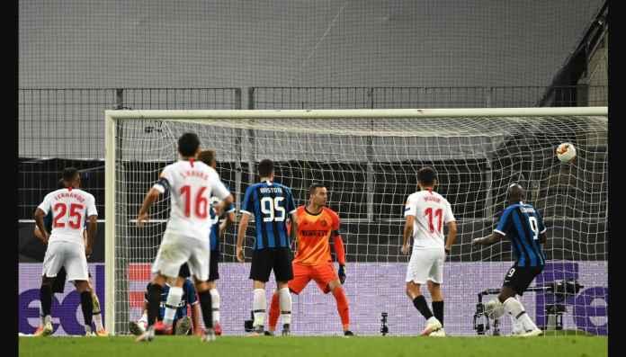 Lukaku di Final Liga Europa Tadi Malam, Cetak Gol dan Kebobolan Gol