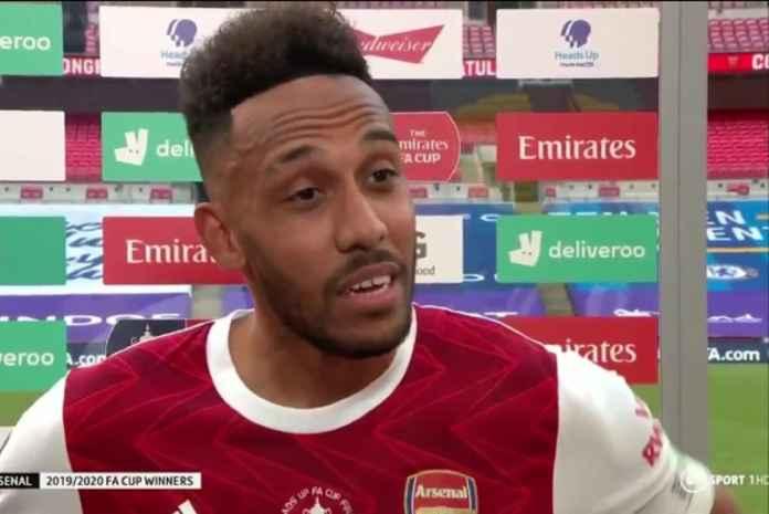 Arsenal Ketar-ketir, Aubameyang Tetap Tolak Berkomitmen Usai Juara Piala FA