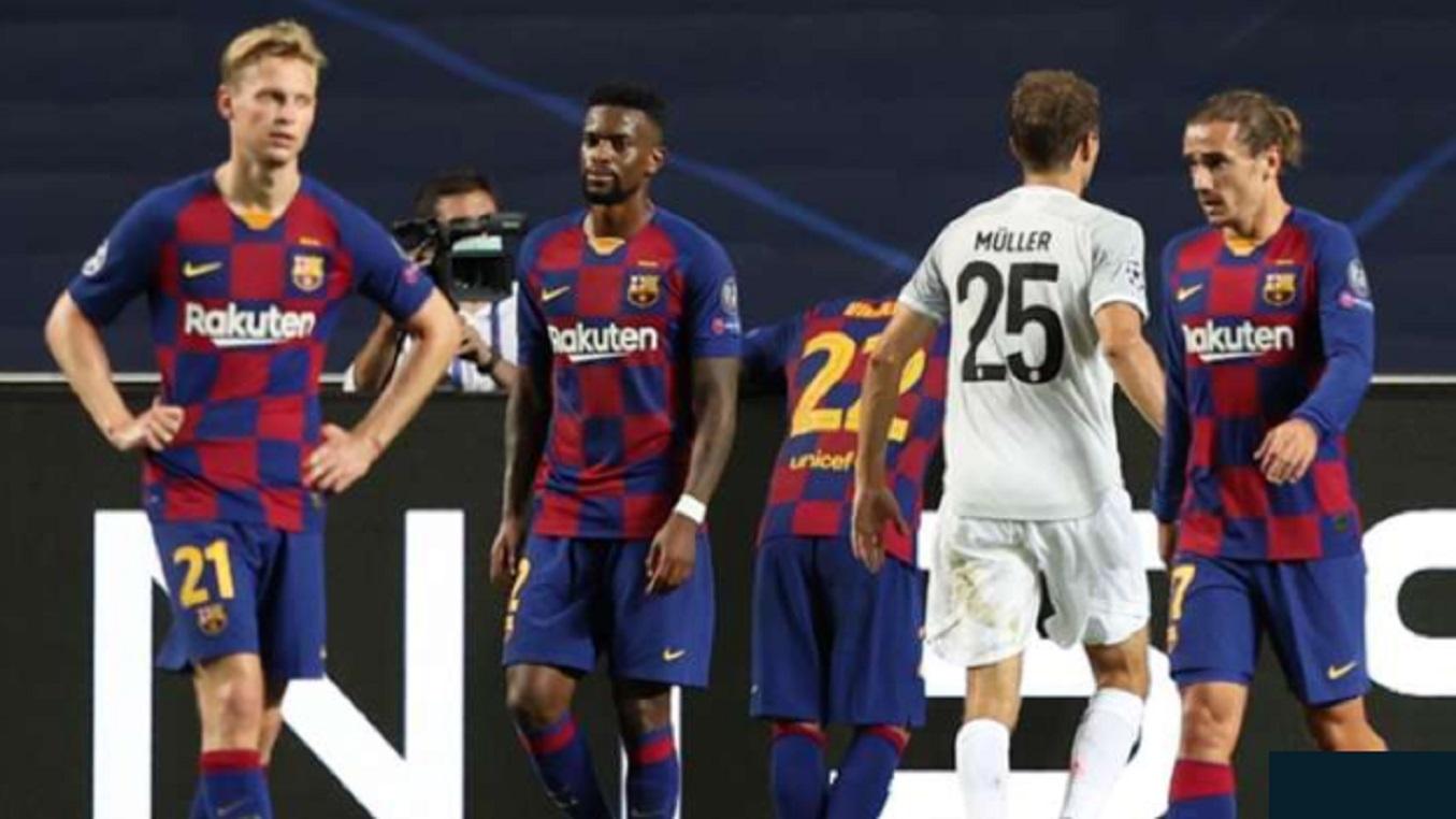 Barcelona Pernah Dibantai Lebih Sadis Skor Bayern Munchen Belum Seberapa Gilabola Com
