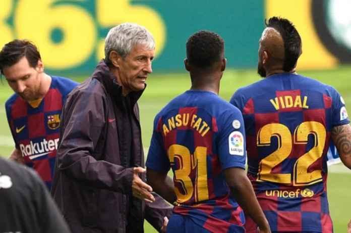 Barcelona Berubah Usai Pertemuan Sang Pelatih dan Lionel Messi